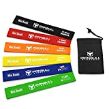 Cheap Iron Bull Strength Loop Resistance Bands (Set of 6) – Exercise Resistance Bands – 12-inch Loop Workout Band – Best for Stretching, Physical Therapy and Home Fitness – with Handy Carry Bag