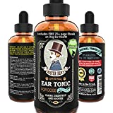 MOST EFFECTIVE DOG EAR DROPS TREATMENT – Mister Ben's Ear Tonic Cleanser w/ Aloe for Dogs – This dog ear cleaner provides FAST RELIEF from dog ear infections, itching, odors, bacteria, mites, fungus & yeast
