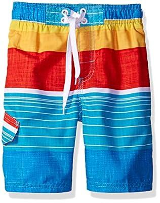 Kanu Surf Boys' Viper Stripe Swim Trunk