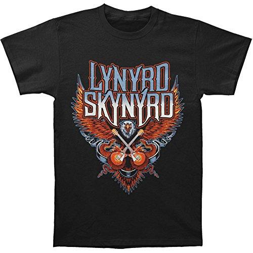 Lynyrd Skynyrd Men's Eagle W/ Guitars T-shirt Black
