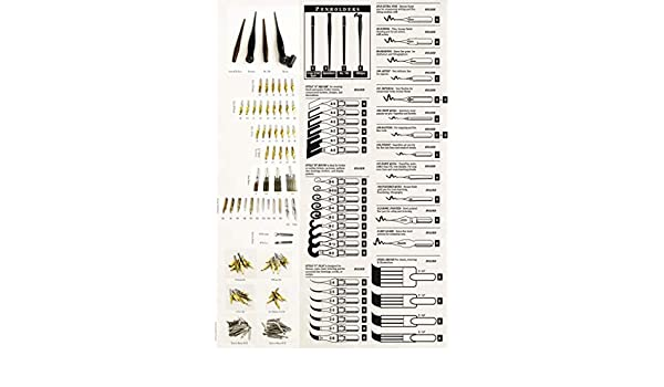 Speedball Calligraphy Broad Edge Pen Point Set A-Style