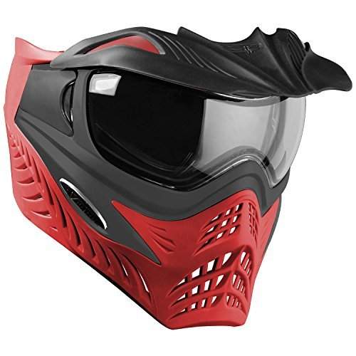 G.I. Sportz VForce Grill Paintball Mask / Thermal Goggles - Special Color - Scarlet (Grey on Red) (Grey Thermal Paintball)