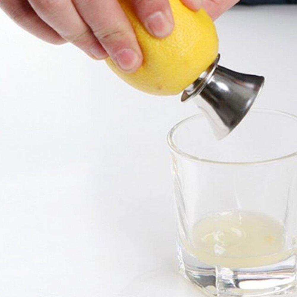 TrifyCore Acero Inoxidable Exprimidor de C/ítricos con Boquilla Extractor de Jugo Juego de Zumo Exprimidores Manuales Prensa para Limones