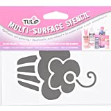 Tulip Multi-Surface Stencil - Cupcake