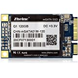 Zheino mSATA SSD 120GB New mSATA (6Gbps) Solid State Drive for Notebooks Tablets and Ultrabooks