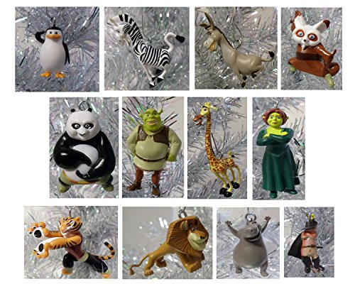 Amazon.com: Dreamworks 10 Piece Holiday Christmas Tree Ornament Set: Home &  Kitchen - Amazon.com: Dreamworks 10 Piece Holiday Christmas Tree Ornament Set