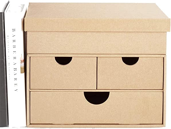 Titular Archivo Caja de almacenamiento de escritorio de papel Cajón creativo Oficina de estudiante Caja de almacenamiento simple Misceláneas multiusos Marcos divisores de archivos de documentos armari: Amazon.es: Hogar