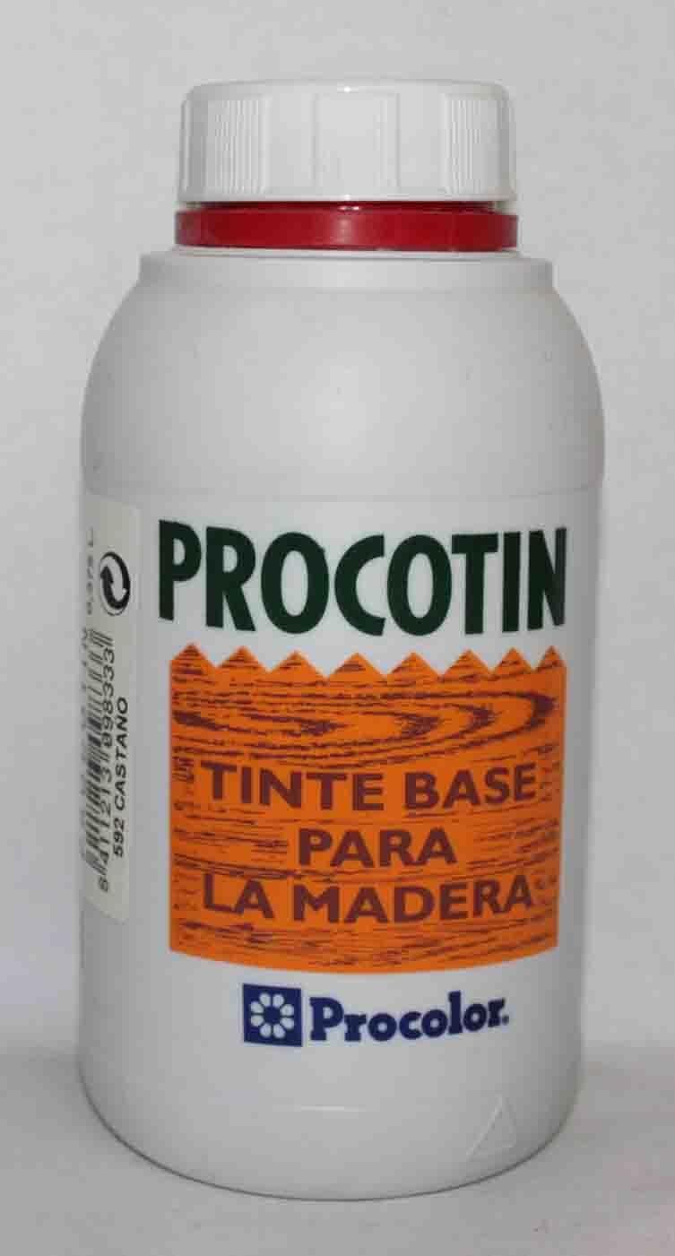 Tinte para madera PROCOTIN 0,375 L color 592 Castaño de ...