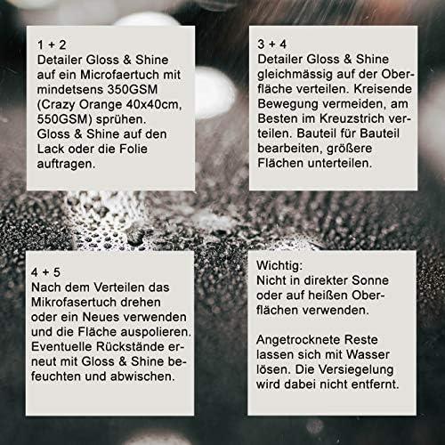 Limited Edition Special Car Detailing Quick Detailer Perfect Gloss Shine Detailer Sprühwachs Sprühversiegelung Mit Carnaubwachs Auto