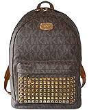 Michael Kors Studded Jet Set Large Backpack PVC (Brown)