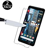 [2-Pack] Google Pixel 2 XL Screen Protector, MOCACA Google Pixel 2 XL 9H Hardness 99% HD Clarity Premium Tempered Glass Screen Protector for Google Pixel 2 XL