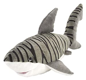 "Wild Republic Cuddlekins 15"" Tiger Shark"