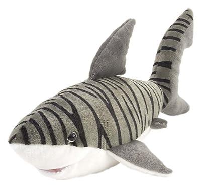 "Wild Republic Cuddlekins 15"" Tiger Shark"