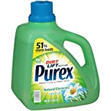 Purex Liquid Laundry Detergent, Natural Elements Linen & Lilies, 150 oz (100 loads)