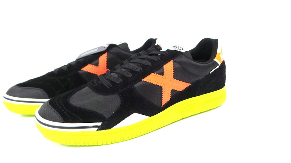 Naranja Fl/úor Zapatilla Munich Gresca Color Negro