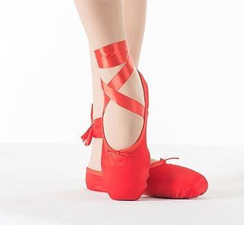 Hoverwings pointes en satin - chaussures de ballet fille/femmes-danse  classique-doux
