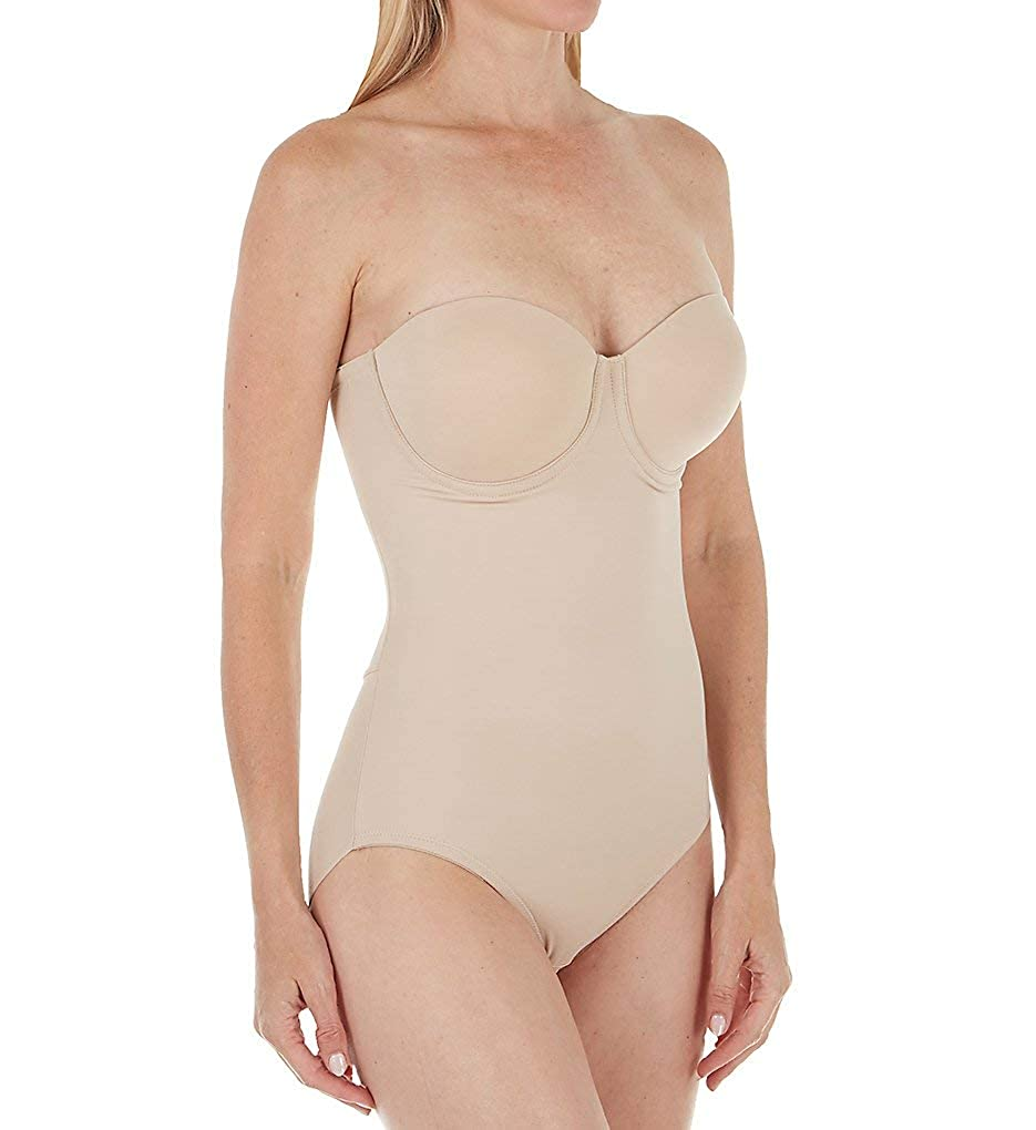 0b7a903ea TC Fine Intimates Extra Firm Control Convertible Bodysuit at Amazon Women s  Clothing store