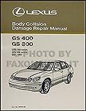 1998-2005 Lexus GS 400/430 and 300 Body Collision Repair Shop Manual Orig.