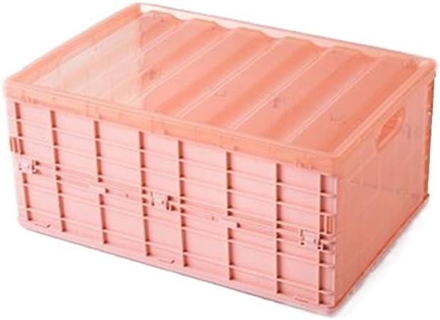 Lwieui Caja de Almacenamiento de CD Plástico apilable Registro de Hogares del Organizador del almacenaje Video Juegos Accesorios for Juegos Estanterías para CDs (Color : Pink, Size : 44X30X21CM): Amazon.es: Hogar