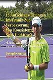 15 Aufschlags-Übungen  Im Tennis Zur Verbesserung Von Konsistenz, Spin Und Kraft (German Edition)