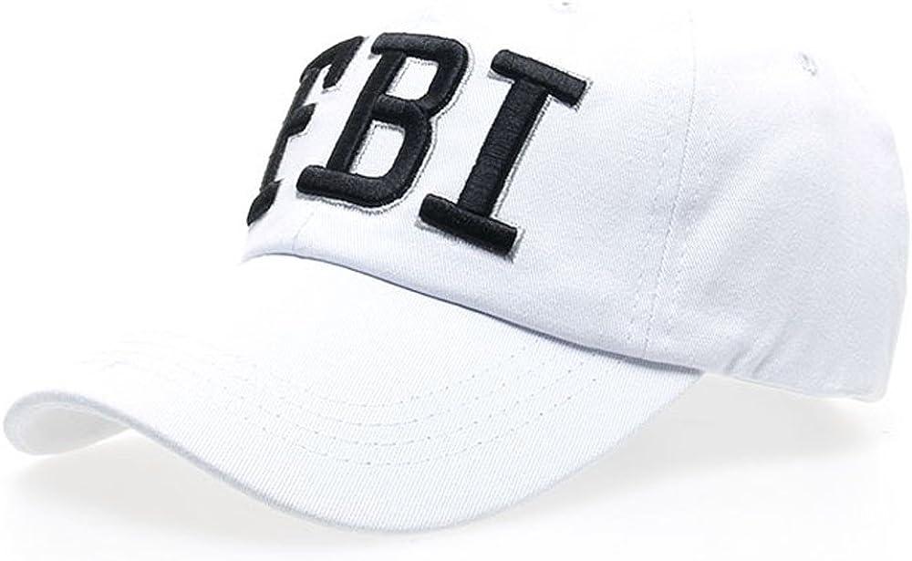 Dorical FBI Gorra de béisbol con Plastic Banda Negro enta Al por ...