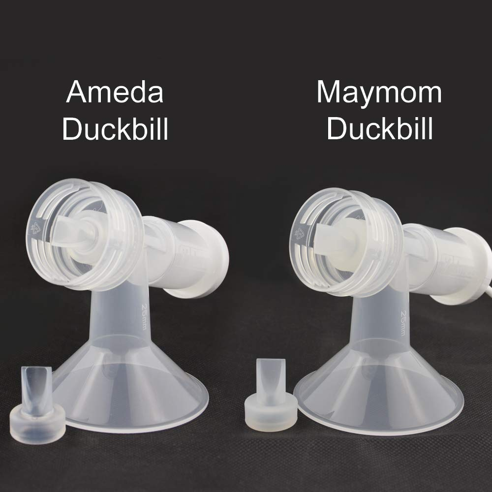 Maymom Pump Valve for Ameda Purely Yours Pumps; Duckbills to Replace Ameda Pump Valves; Retail Packaging Factory Sealed