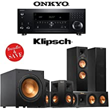 Onkyo TX-RZ900 7.2-Channel Network Home Theater Receiver + Klipsch RP-260F + Klipsch RP-440C + Klipsch RP-250S + Klipsch R-12SW - 5.1 Reference Premiere Bundle