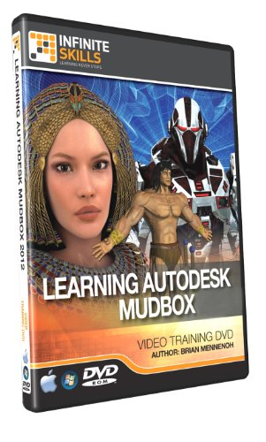 Learning MudBox 2012 - Training DVD - 9.5 Hours of Tutorial Videos by Infiniteskills