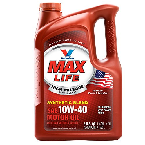 Valvoline 10W-40 MaxLife High Mileage Motor Oil - 5qt (782482)