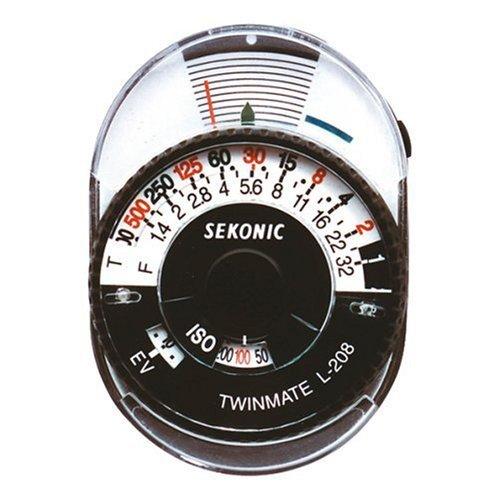 セコニック 【並行輸入品】Sekonic L-208 Twin Mate Light Meter (Black/White)   B00GNTV6X2