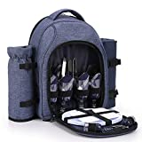apollo walker Picnic Backpack Bag for 4 Person with