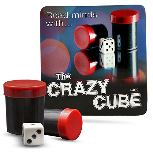Magic Makers The Crazy Cube Magic Trick – Easy Mind Reading Effect