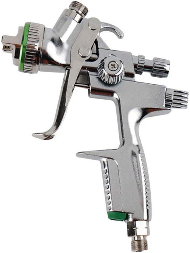 WEZER OTY HVLP Lackierpistole Spritzpistole,Ausgestattet Mit 1,3 Mm D/üse Und 600 Ml Gie/ßkanne Zur Reparatur Der Lederoberfl/äche,1000b,1.3mmnozzle