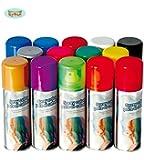 GUIRCA - BOMBOLETTA Spray LACCA Colorata per COLORARE I Capelli (Verde Fluo)