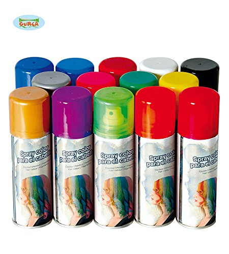 Bombolette spray colorate per capelli