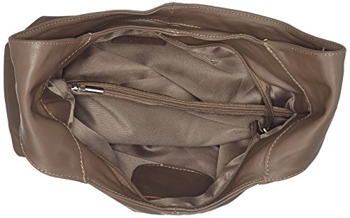 Borse Donna Rubin taupe E Marrone Shopper A Bags4less Tracolla wtTq1