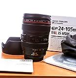 Canon EF 24-105mm f/4L IS USM Zoom Lens - White Box (New) (Bulk Packaging)