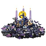 Disney Nightmare Before Christmas Floral Centerpiece with Lights and Music by The Bradford Exchange