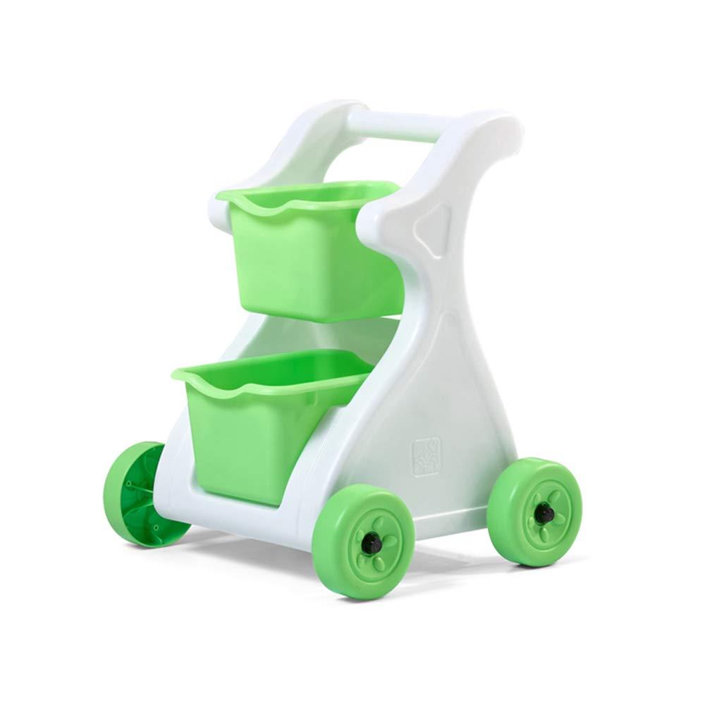 Step2 Modern Mart Shopping Cart | Kids Pretend Play Grocery Cart | Removable Baskets