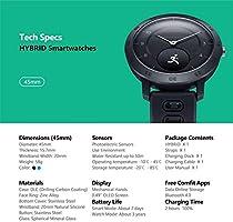 Amazon.com: Zeblaze Hybrid Smart Watch, Heart Rate Blood ...