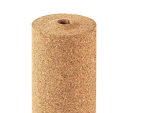 CorkInsu Cork Underlayment 2mm - One Roll Covers 322.92 sq ft