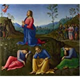 Oil painting 'Lo Spagna-The Agony in the Garden,1500-5' printing on high quality polyster Canvas , 12x13 inch / 30x34 cm ,the best Wall art decoration and Home artwork and Gifts is this Best Price Art Decorative Canvas Prints