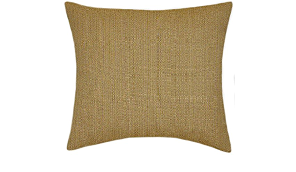 Amazon Com Sunbrella Linen Straw Indoor Outdoor Textured Pillow 14x14 Small Kitchen Dining