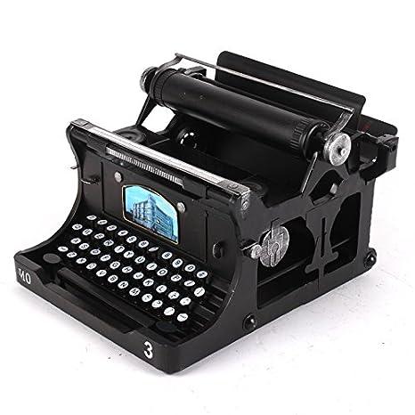 New One Day YYY-Máquina de Escribir Manual Vintage con Decoraciones de Accesorios de Hierro Bar Tienda Modelo Retro Vintage fotografía, 30x32x20: Amazon.es: ...