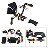YaeCCC Video Camera Shoulder Rig Support with Matte Box Follow Focus for All DSLR Cameras and Camcorders-Color Orange