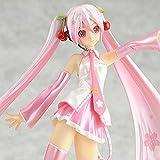 Ggtop New Anime Vocaloid Sakura Miku PVC Action Figure Figurine Collectibles