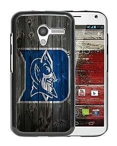 For Moto X,NCAA Atlantic Coast Conference ACC Footballl Duke Blue Devils 8 Black Protective Case For Moto X