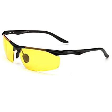Gafas de sol Gafas De Visión Nocturna Luz Polarizada De Conducción Espejo Gafas De Sol Dedicada