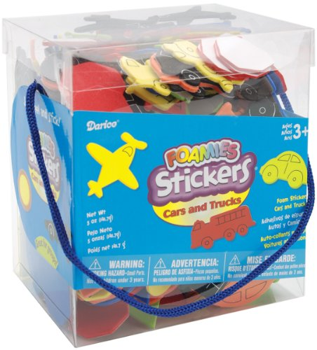 Darice 1040 75 Foamies Stickers 5 Ounce
