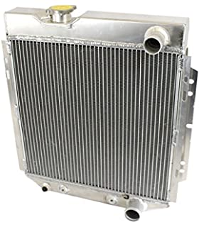 2 Row Aluminum Radiator For 1964-1966 FORD MUSTANG V8 260 289 AT MT 1965